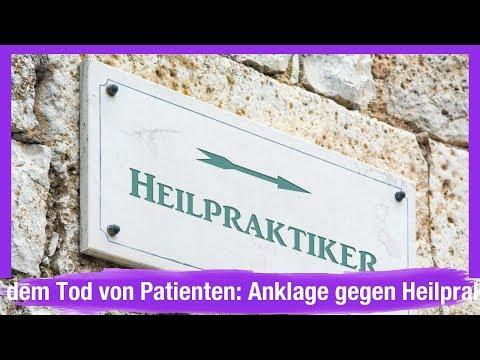 Nach dem Tod von Patienten: Anklage gegen Heilpraktiker