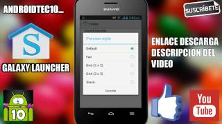 Galaxy Launcher / Launcher del Samsung Galaxy S5 para Android -HD