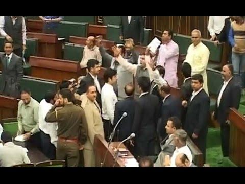 HIGH DRAMA in Jammu & Kashmir Assembly