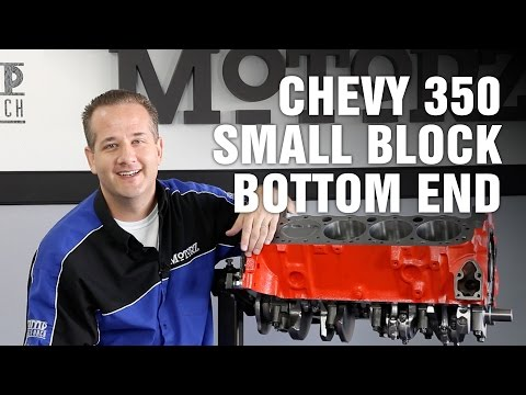 How-To Rebuild the Bottom End of a Chevy 350 V8 Small Block Engine