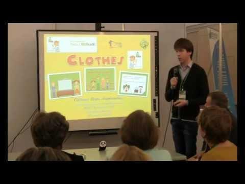 """Интерактивный урок английского языка """"Clothes"""" в ПО WizTech - победитель конкурса """"Учить с WizTeach"""""""