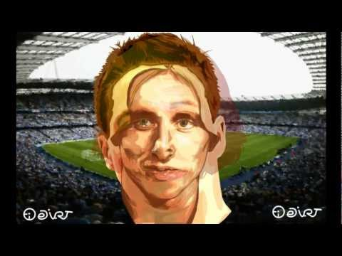 Football Stars Match MANCHESTER CITY v REAL MADRID Nasri - Modric