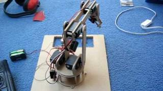 my robotic arm completed