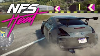 NEED FOR SPEED HEAT - Nissan 370z Customization & Drifting Gameplay