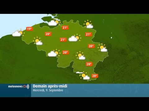 Weather for Belgium + World screenshot for Android