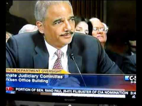 Eric Holder on Brainwashing