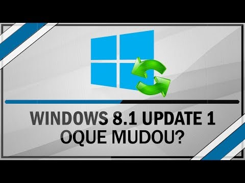 Review - Windows 8.1 Upgrade 1 / Oque mudou?