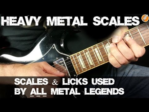 Heavy Metal Scales - Scales For Heavy Metal And Thrash Soloing