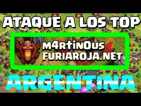 ATAQUE A LOS TOP: M4rt1n0us - ARGENTINA - A por todas con Clash of Clans - Español - CoC
