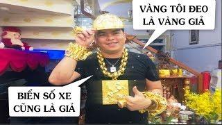 NÓNG: Phúc XO khai vàng đeo trên người là vàng giả, xe ngũ quý cũng biển giả - News Tube