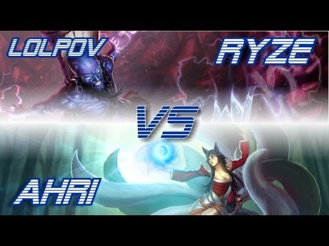  LoLPoV - Ryze vs Ahri [Mid] (League of Legends Live Commentary)