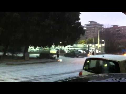 Nevicata a Palermo