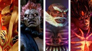 Tekken: All Bosses Intros/Win & Lose Poses (Tekken 1 to Tekken 7)