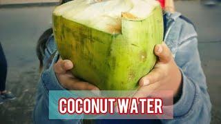 COCONUT 🥥 WATER **FOR BREAKFAST **