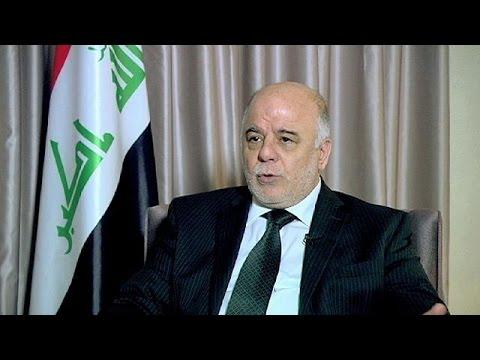 رئيس مجلس الوزراء العراقي حيدر العبادي يخص قناة يورونيوز الدولية بمقابلة حصرية