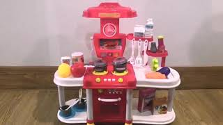 Children's Kitchen Pay House Toy Simulation Cooking Tableware with Light Sound Benefit Wisdom Toy