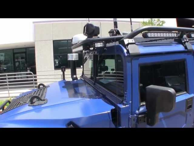 Custom Predator Overland Expedition Hummer H1