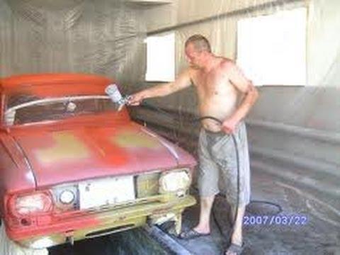Покраска Авто. Не шлифуемый грунт.