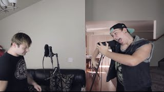 "Motionless In White ""Reincarnate"" Dual Vocal Cover (Jared Dines and Austin Dickey)"
