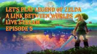 Let's Play! Zelda: A LInk Between Worlds Live Stream