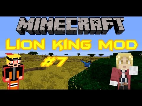 [Minecraft] Lion King Mod Ep7 Mining [ITA]