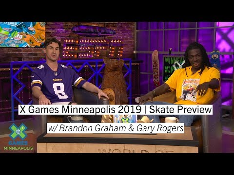 Skate Preview with Gary Rogers | X Games Minneapolis 2019