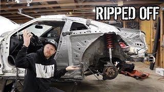 WTF Happened to my GTR Replacement Quarter Panel!?