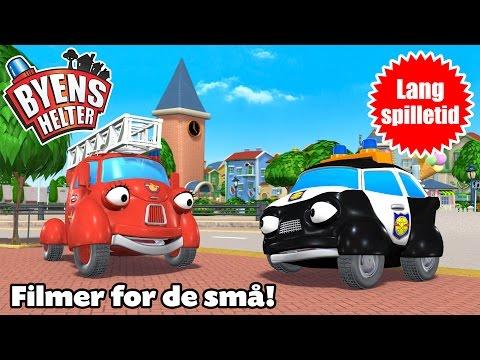 Byens helter – Non-stop! Spill av «Pakke 01» – Førskoleanimasjon – 4 episoder på rad