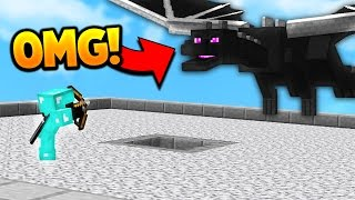 BREAKING THE GAME...?  Minecraft BED WARS