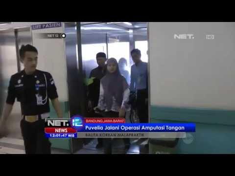 Net12 - Balita Korban Malapraktik Puvelia Jalanin Operasi Amputasi Tangan video