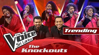 Upendra Siriwardana | Maaya Enawa The Knockouts | The Voice Sri Lanka