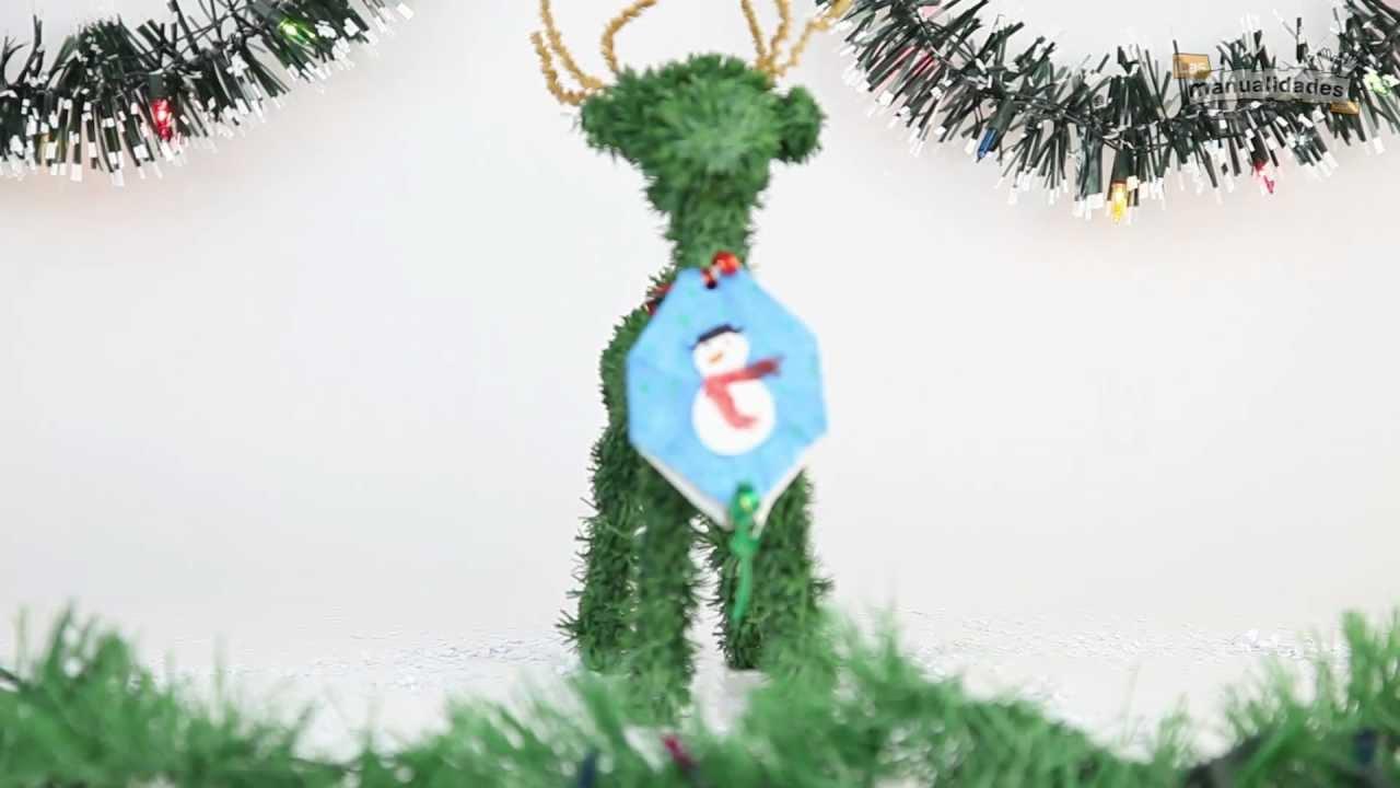 Adornos de navidad reciclados youtube - Adornos reciclados para navidad ...