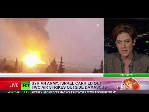 Israeli airstrikes hit targets near Damascus International Airport