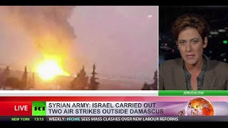 Israeli airstrikes hit targets near Damascus International Airport Image