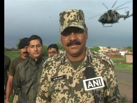 India Jammu Border BSF,Army & Air Force Rescue Operation at 192 BN BSF Kathmariam Post