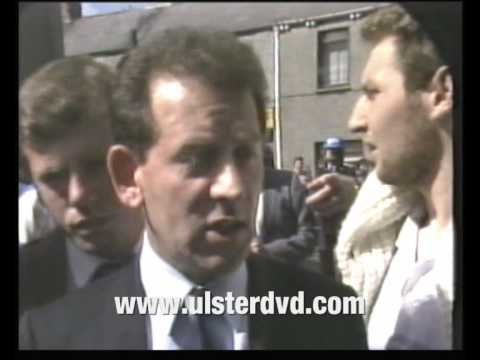 Peter Robinson Arrested PART 3 DUP Dundalk Riot 1986