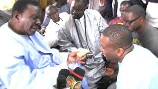 Ziar de Bougane Gueye Dani auprès de Cheikh Béthio Thioune
