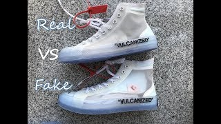 Off White Converse Real vs Fake Comparison HD Review from perefctkicks.xin