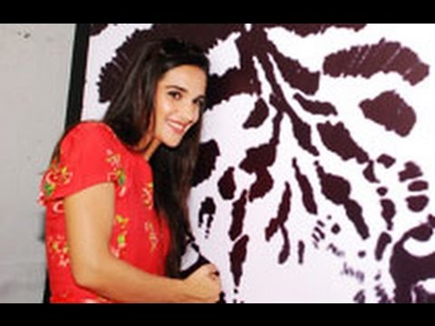 Tara Sharma Joins 'Save The Tiger Campaign'