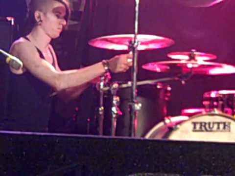 Woe, Is Me/Austin Thornton on the drums