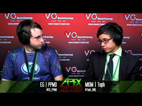 Apex 2015 - Interview with EG | PPMD