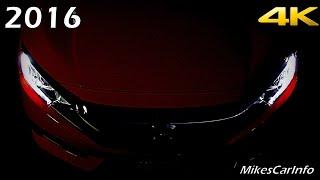 2016 Honda Civic AT NIGHT Interior and Exterior in 4K