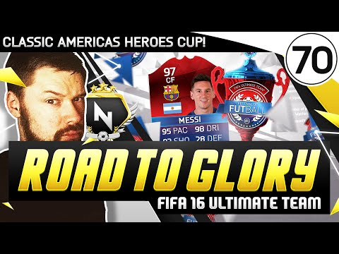 AMERICAS HEROES CUP! - FUT ROAD TO GLORY!! - #70 - FIFA 16 Ultimate Team