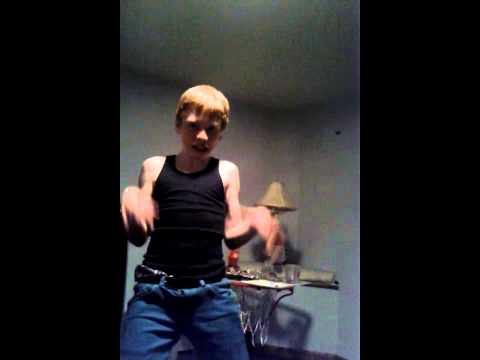 Funny guy dancing to California girls