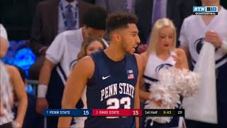 (NCAAM) Big 10 Tournament - #7 Penn State vs #2 Ohio State in 40 Minutes (3/2/18)