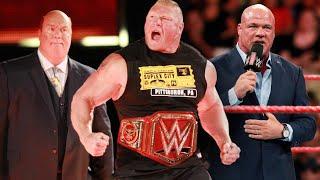 Will WWE Strip Brock Lesnar Of Universal Title Tonight?