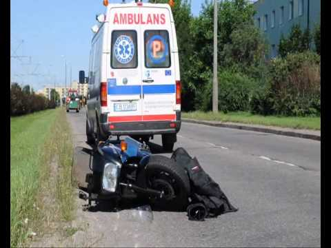 Wypadek Motocyklisty Na Ul. Wojska Polskiego W Bydgoszczy
