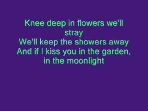 Tiny Tim - Tiptoe through the tulips lyrics