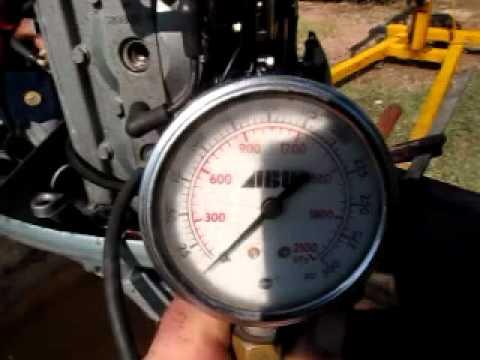 Evinrude 25 Hp >> Johnson 70hp Compression Check - YouTube