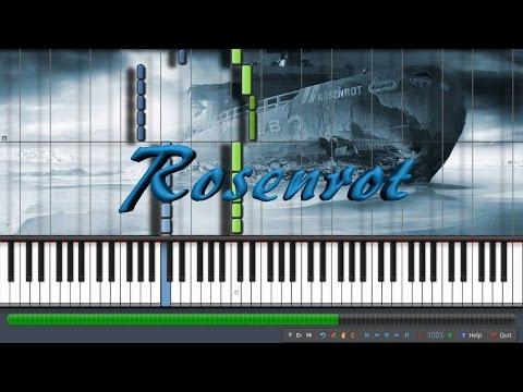 Rosenrot | Rammstein | Piano Tutorial Synthesia